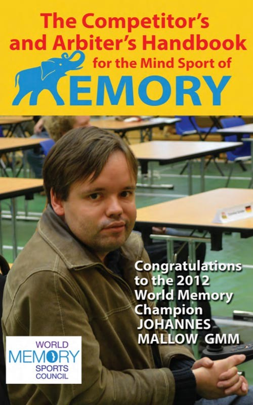 The WMSC Memory Competitor's and Arbiter's Handbook