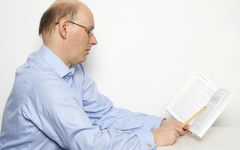 Phil Chambers reading